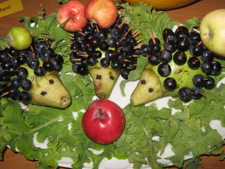 Фото поделок из фруктов и овощей осень 206